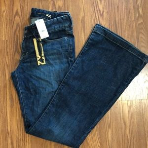 Express Vintage X2 Fit & Flare Jeans